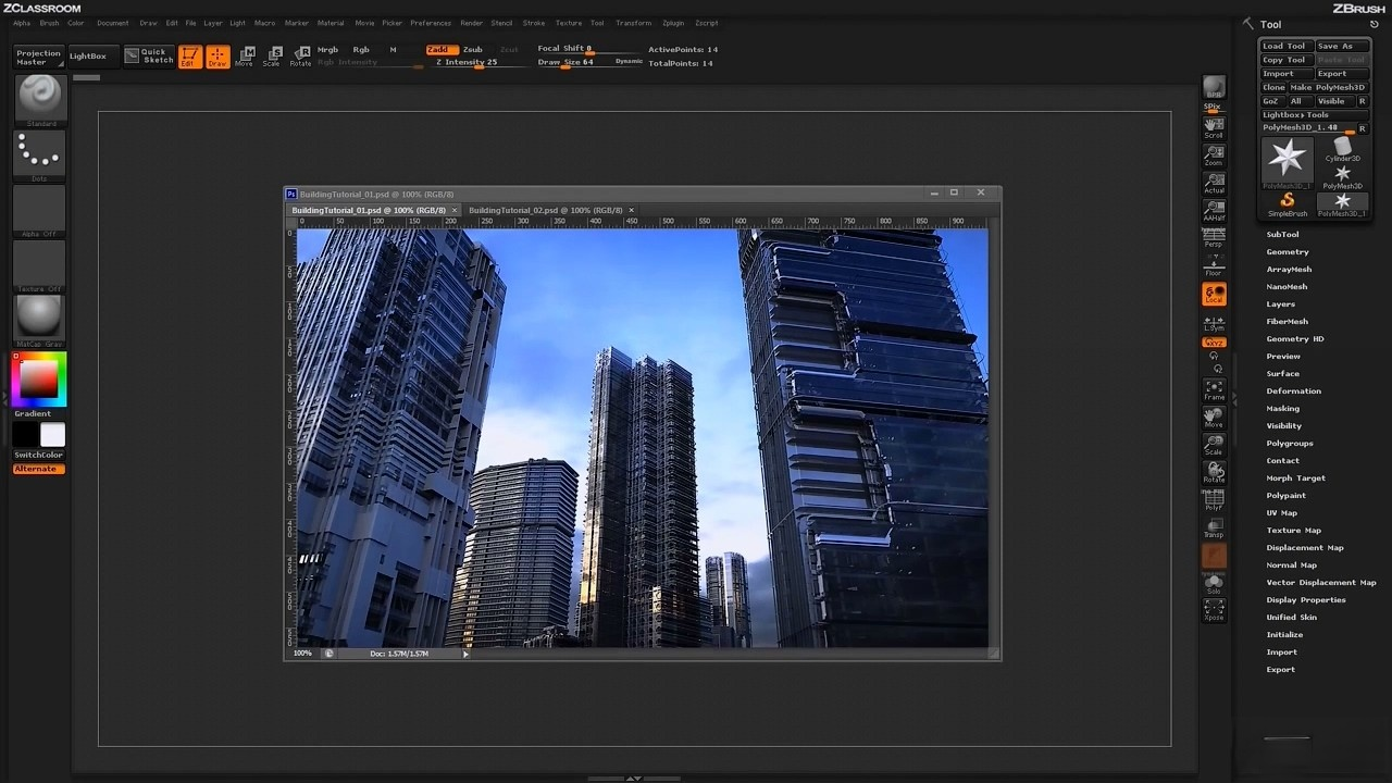 ZBrush Architectural Design - Part 1 (HD).mp4_20150823_220130.518.jpg
