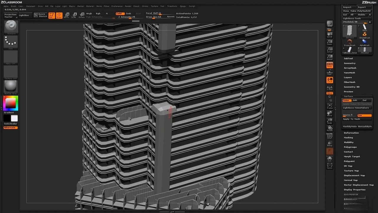 ZBrush Architectural Design - Part 5 (HD).mp4_20150823_220310.920.jpg