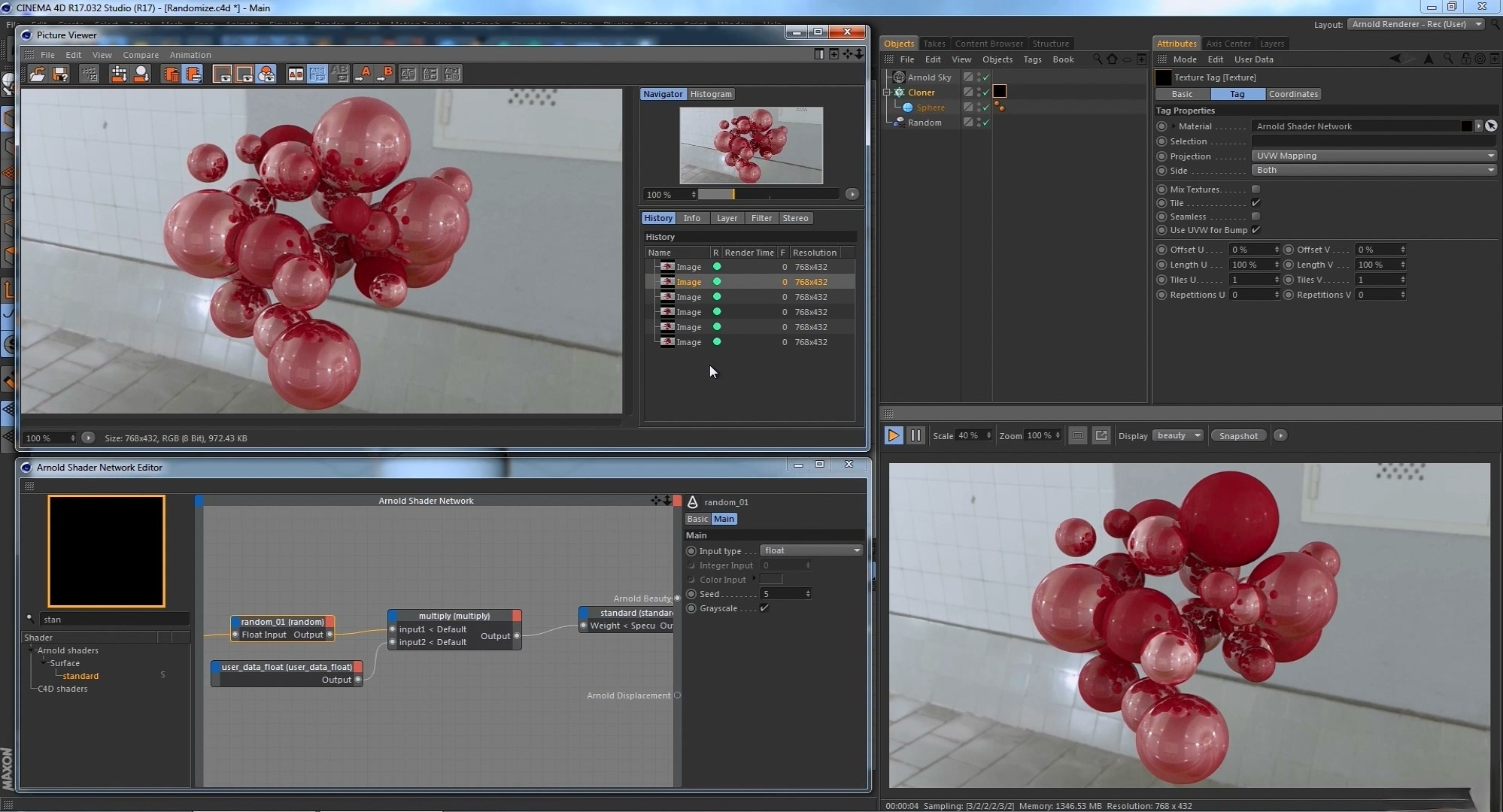 Cinema 4D - Object-Based Shader Randomization with Arnold Renderer Tutorial.MP4_.jpg