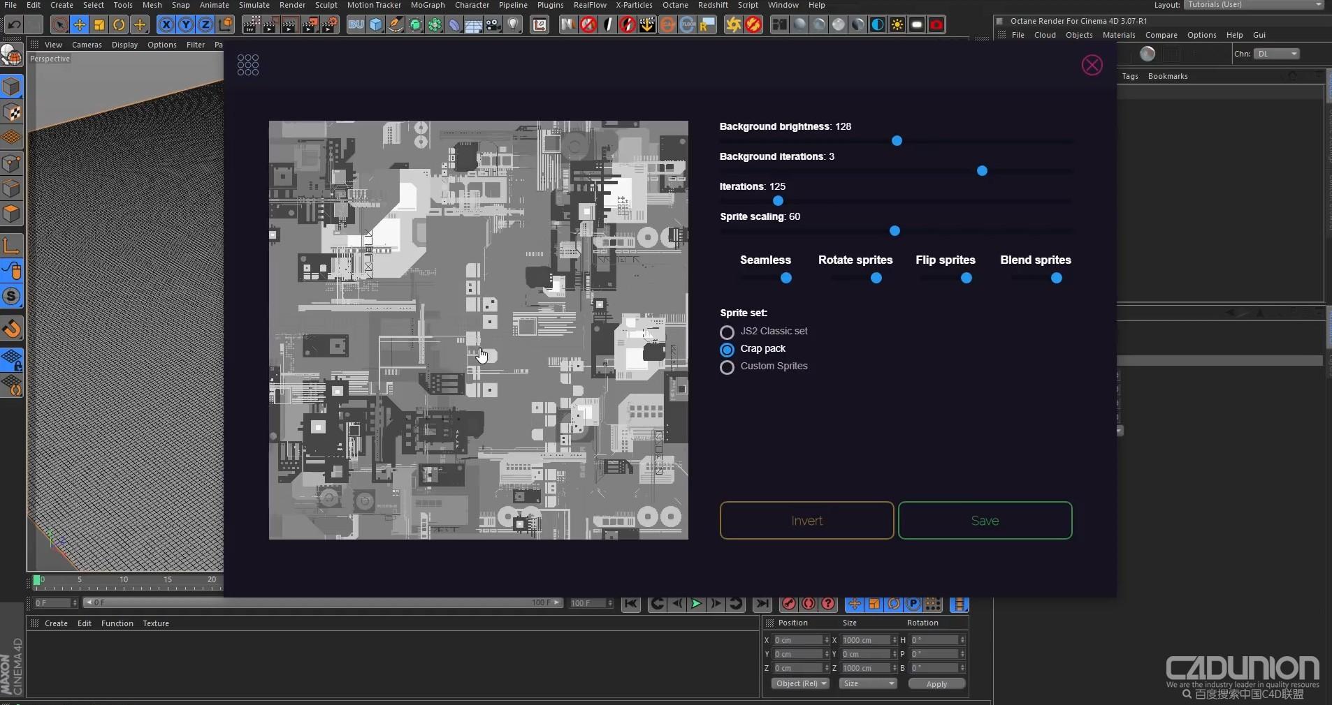 cinema 4d 电路板效果制作渲染视频教程