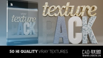 Vray C4D纹理包合集,VRAY Texture Pack for C4D