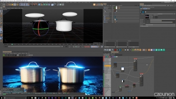 Octane 高级材质渲染视频教程 - Cinema 4D Tutorial Advanced Octane Shaders