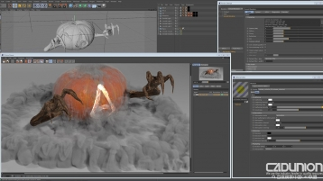 C4DtoA 2.4.0 for Cinema 4D R17-R19 Win 英文替换破解版