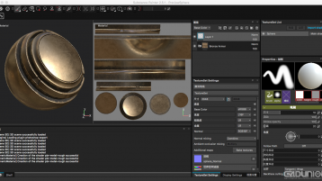 Substance Painter v2.5.1 Mac 中文汉化版(通用语言文件)