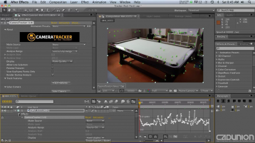 摄像机跟踪反求插件 - CameraTracker 1.0v10 for After Effects CC2017