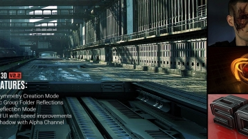 [Mac 版] Video Copilot Element 3D v2.2.2.2147 for After Effects