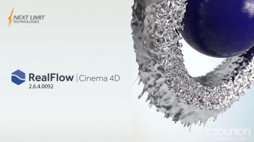 NextLimit RealFlow C4D 2.6.4.0092 Win [R17-R19] 英文原版