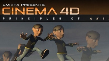 C4D角色动画原理教程cmiVFX - Cinema 4D Animation Principles