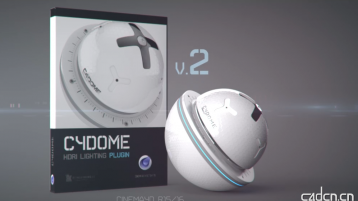 灯光插件 - Renderking C4Dome v20 Build 2020150907