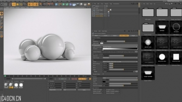 CINEMA 4D Vray for C4D Tutorial C4D渲染器Vray
