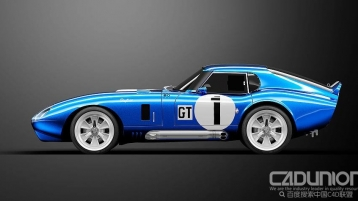 Cobra Daytona Coupe 1964款跑车模型