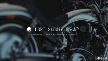 GSG – HDRI StudioPack 2.01 for Cinema4D Win/Mac