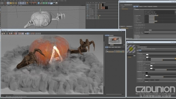 Solid Angle Cinema4D To Arnold v2.1.2 R16-R18