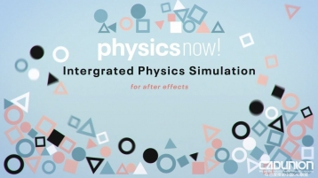 After Effects 新一代 2D 动力学模拟插件 - Physics now 1.02 Win&Mac版