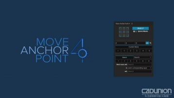 After Effects 图层锚点居中插件 Move Anchor Point 4.0.1 Win&Mac版