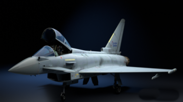 EF2000多用途战斗机 EF2000 Multirole Fighter C4D 3D模型