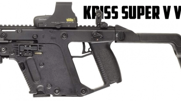 TDI Vector KRISS SuperV SMG 45 ACP 口径冲锋枪3D模型