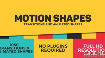 [Videohive] 动态形状图层动画元素AE模板 - Dynamic Shapes - Animated Shape Layer