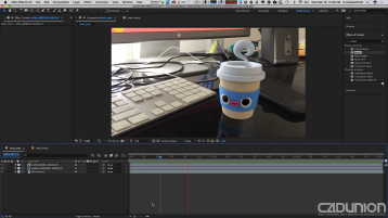 C4D&AE渲染合成视频教程 - Tips for Compositing Cinema 4D Renders into Footage