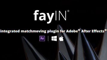 摄像机反求跟踪插件 FayIN GOLD v2.4.1 for After Effects CC&CC2014 WIN&MAC
