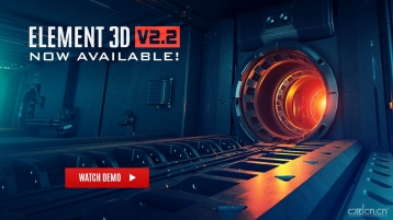 Element 3D v2.2.2.2147 for After Effects Win&Mac 版