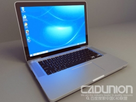 Macbook Pro 15免费3D模型下载 MACBOOK PRO 15 FREE 3D MODEL